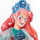 Дисней Принцессы в сарафанах и кокошниках