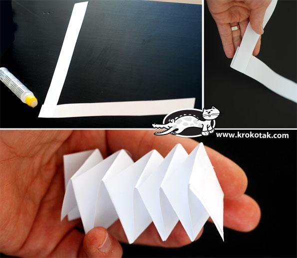 Свечка из бумаги своими руками