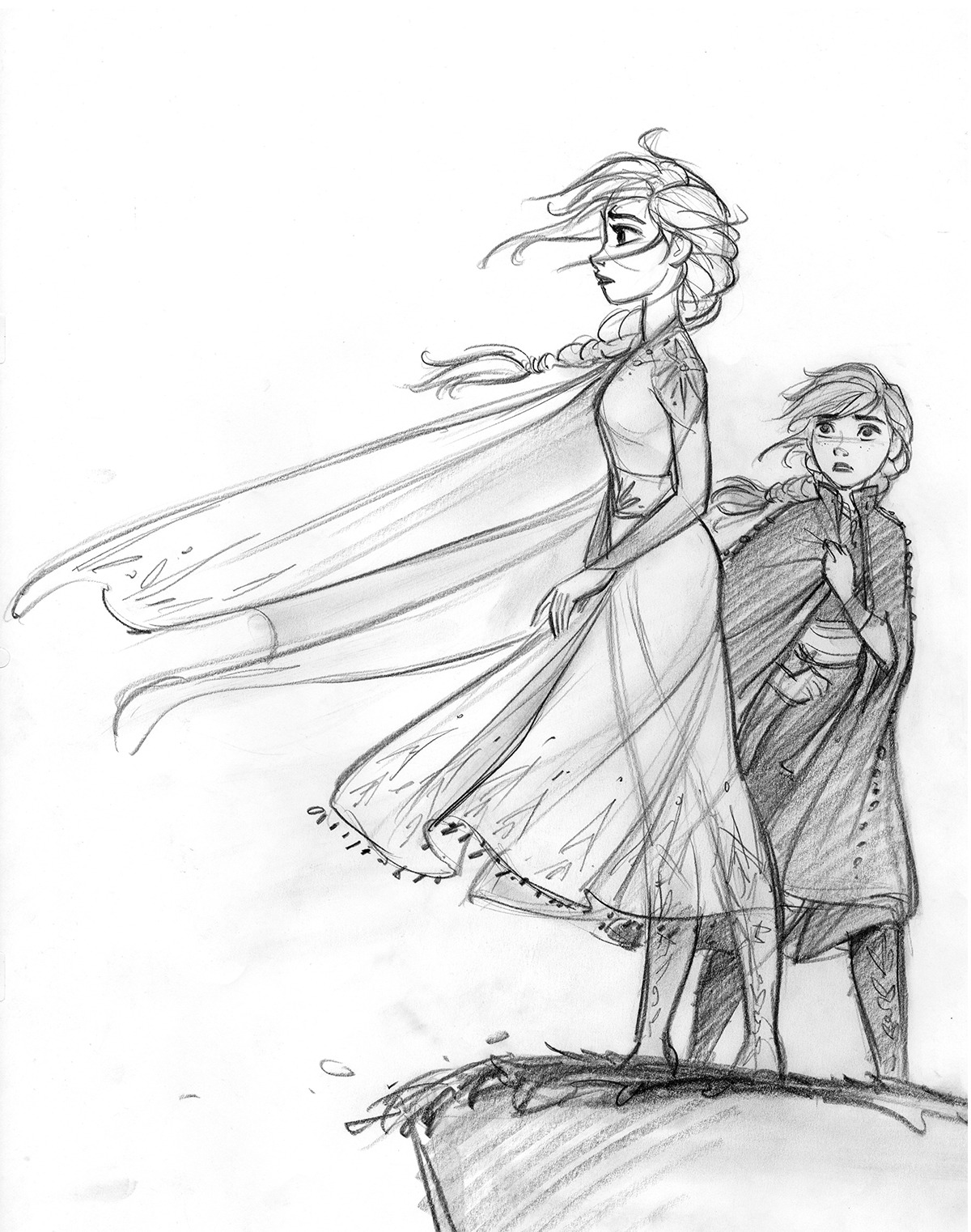 This is a photo of Modest Into The Unknown Drawing